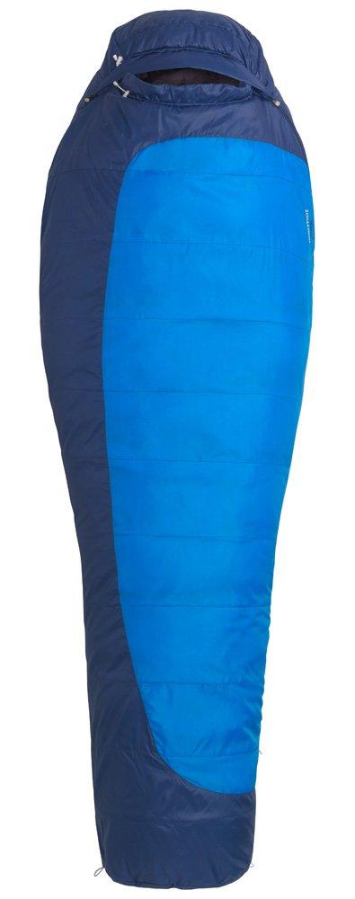 Marmot Trestles 15 Sleeping Bag Long Cobalt Blue/Deep Blue Ausführung rechts 2016 Mumienschlafsack