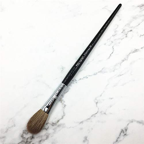 Best Quality - Eye Shadow Applicator - High End Goat Hair Black Long Handle No.98 Pro Highlight Blender Makeup Brush - by Mariahanan - 1 PCs
