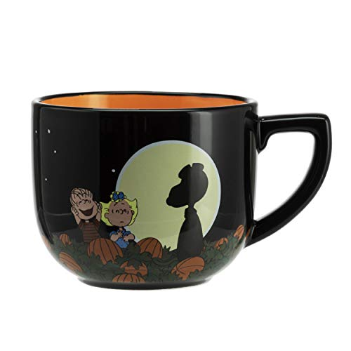 Hallmark 6MJN1510 Oversized Peanuts Mug, Large, Full Moon Snoopy -