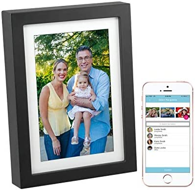 PhotoSpring 8in WiFi Digital Photo Frame