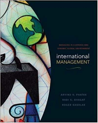 Book International Management: Managing in a Diverse and Dynamic Global Environment