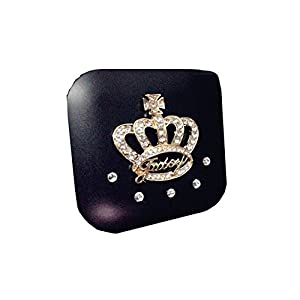 [BLACK Crown] Special DIY Contact Lenses Box Case/Holders Storage Container