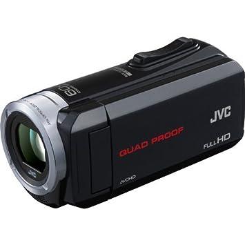 Amazon.com : JVC Everio Camcorder Quad Proof HD Camera, Black ...