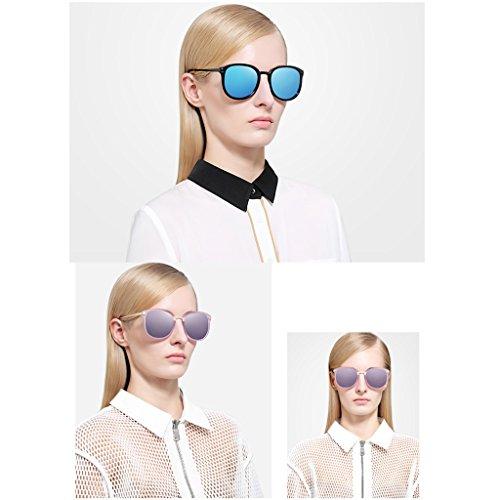 Frame de Pink Fashion Tide Femme Essential Soleil Retro New 2DAWANG Lunettes T5vqwaY