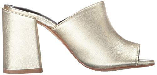 Shellys London Womens Calico Mule Guld