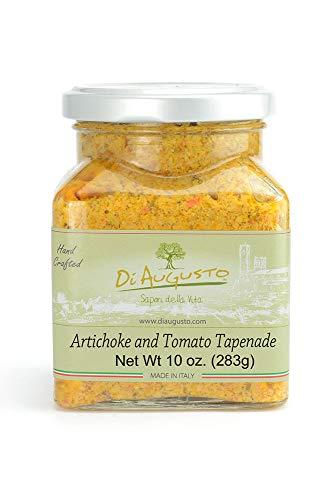 (Di Augusto Artichoke and Tomato Tapenade 10 oz (283 g) Glass Jar (Pack of)