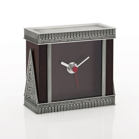 Royal Selangor Gembira Desk Clock W 10.5CM x H 10CM x D 5CM