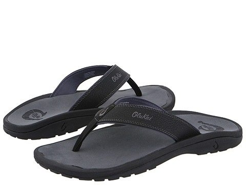 OLUKAI Men's Ohana Sandals, Black/Dark Shadow, 11 M US (Saying About Best Friends For Life)