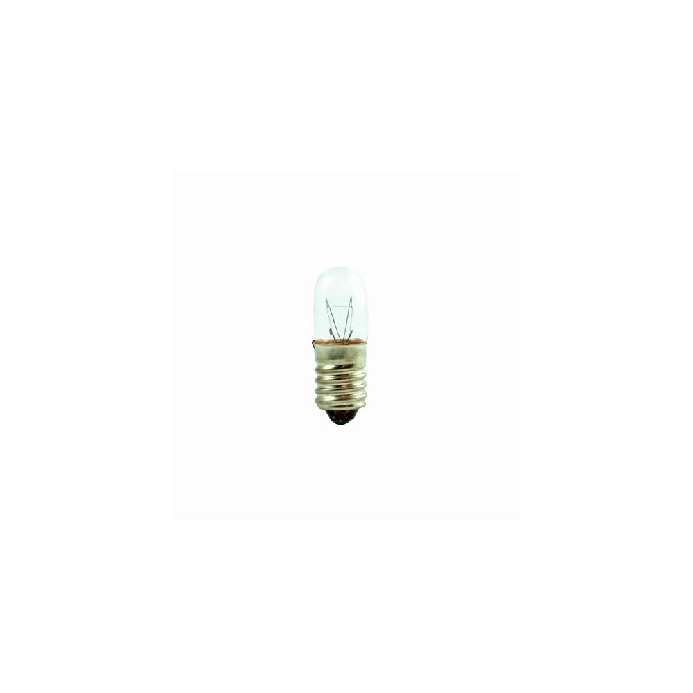 Bulbrite 708106 - 6T4/130V Indicator Light Bulb - Pack of 5