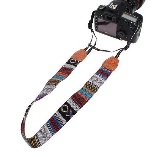Vintage Soft Multi-Color Universal Camcorder Camera Shoulder Strap Neck Belt for DSLR Nikon Canon Sony Olympus