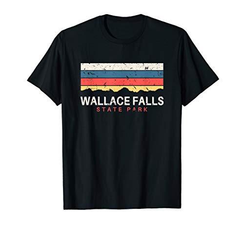 - Wallace Falls State Park T Shirt Vintage Souvenirs WA