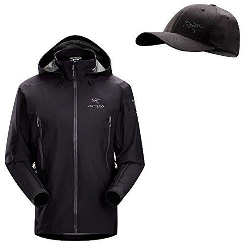 Arc'Teryx Men's Theta AR Jacket - Black - M - with Free Embroidered Bird Cap by Arc'teryx