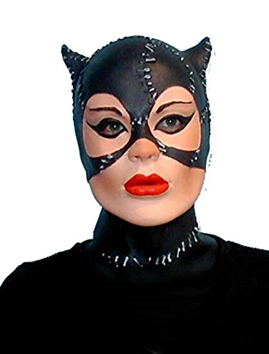 Meow Cindy Catwoman Foam Latex Mask]()