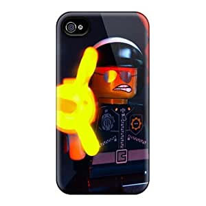 AlissaDubois Iphone 4/4s Protector Hard Phone Covers Custom High Resolution The Lego Movie Series [Szr1261LVwi]