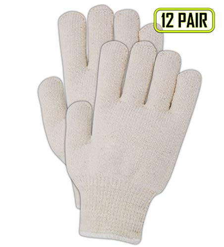 - Magid Heavyweight General Purpose Terrycloth Gloves, 10