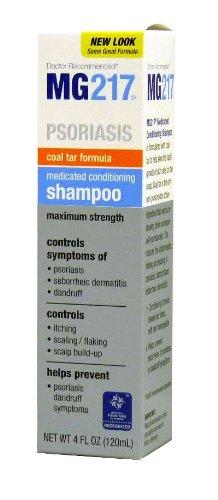 MG217 médicamenteux shampooing au goudron avec Climatiseurs, Extra Strength, 4 oz