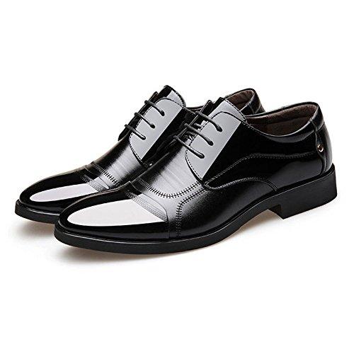 en OEMPD D'Affaires Mariage en pour Chaussures pour Chaussures Hommes Chaussures Les Black Dentelle de de Souligné Hommes Cuir Chaussures A 5v5pWPng