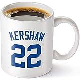 Clayton Kershaw Mug - Los Angeles Baseball 11 oz Coffee Cup - Makes A Great Fan Gift