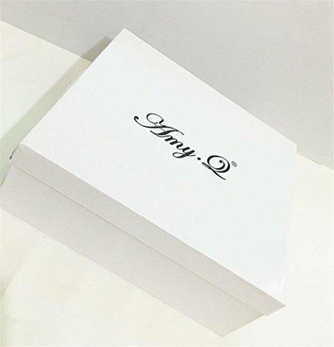 Printemps Cuir Chaussures Femmes Bottes Diamante Rouge EUR35UK3 Pointu Stiletto Vin Serpentine WINERED Talon Cheville Hiver Automne NVXIE 7XRwq0x0