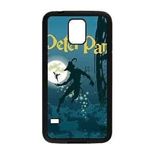 Samsung Galaxy S5 Cell Phone Case Black Peter Pan F7M5US