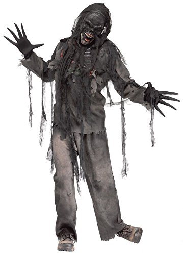 Costume Ideas For Men Halloween (Burnt Dead Zombie Adult Costume)