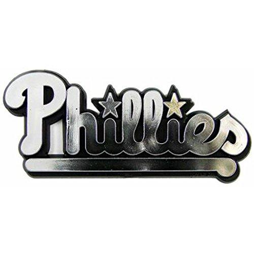 (MLB Philadelphia Phillies Chrome Automobile Emblem)