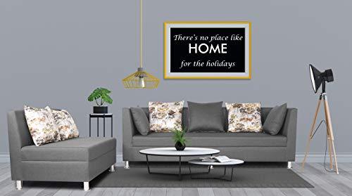Adorn India Prime Alica Modular Sofa Set Light Grey  1
