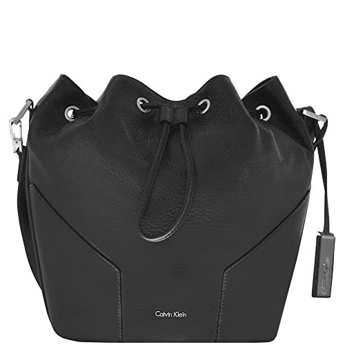 Calvin Klein Kate Bucket Bag Beuteltasche Leder 22 cm