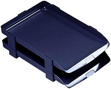 Pack 5 Rexel Agenda Classic Risers Self-locking for Letter Trays 53mm Charcoal Ref 25224