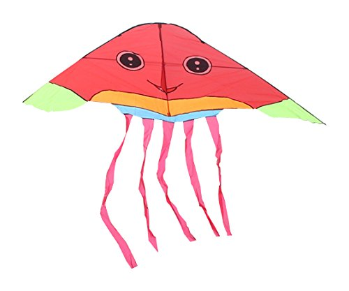 Squid Costume For Adults (RoarSoar Uttarayan Cute Squid Child or Adult Easy to Fly Kite, 98