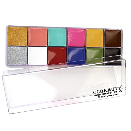CCBeauty Professional Paint 12Colors Painting