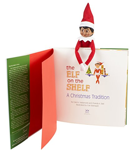 the elf on the shelf a christmas tradition brown eyed. Black Bedroom Furniture Sets. Home Design Ideas