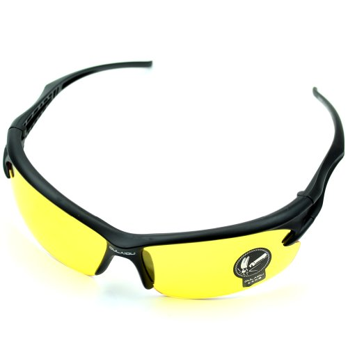 GaoCold Hot Sports UV400 HD Night Vision Cycling Riding Driving Glasses Motorcycle Ski Snowboard Dustproof Anti-Explosion Sunglasses Goggles