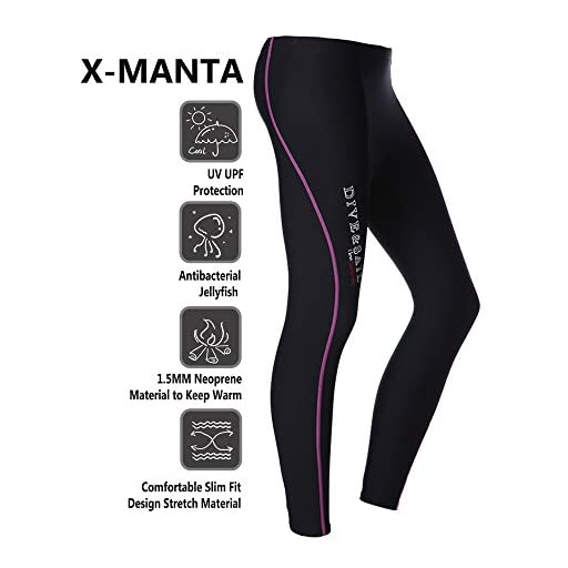 DIVE   SAIL Wetsuit Pants 1.5mm Women Neoprene Pants For Kayaking Surfing  Snorkeling Padding 0f6f8db79
