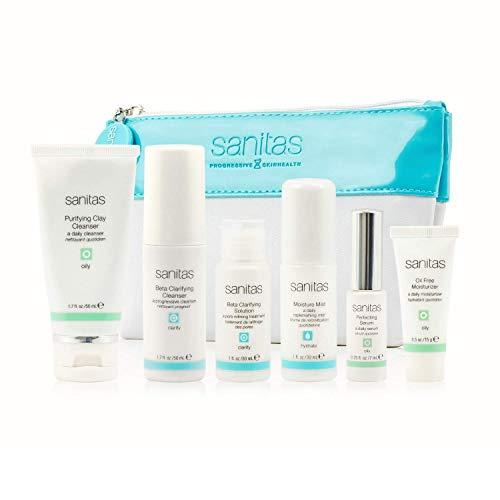Sanitas Skincare Oily Skin Kit, Purifying Kit for Oily Skin