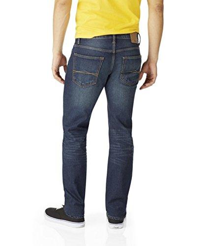 Aeropostale Mens Skinny Dark Wash Jeans 28W x (Aeropostale Skinny Jeans)