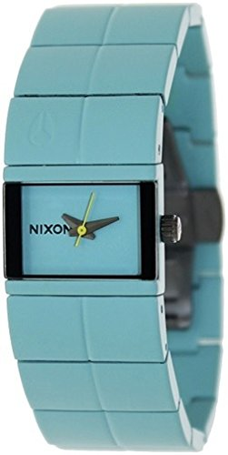 Nixon Women's A190272 Cougar Stainless Steel Blue Dial Watch (Cougars Womens Watch)