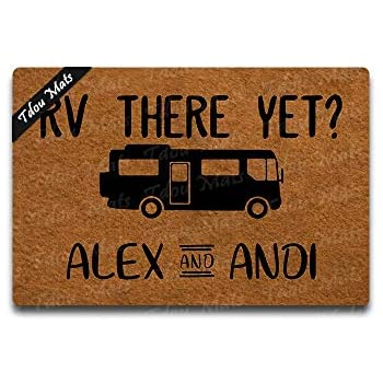Amazon Com Cindy Amp Anne Rv There Yet Personalized Name