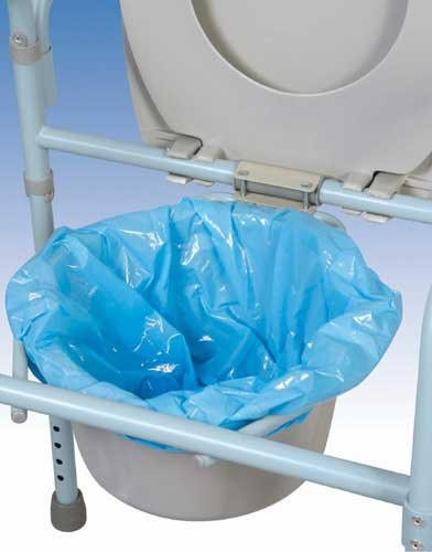 Commode Pail Liners Set 7
