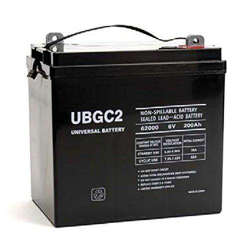 (Universal Power Group UPG 6V 200AH Sealed Lead-Acid Battery)