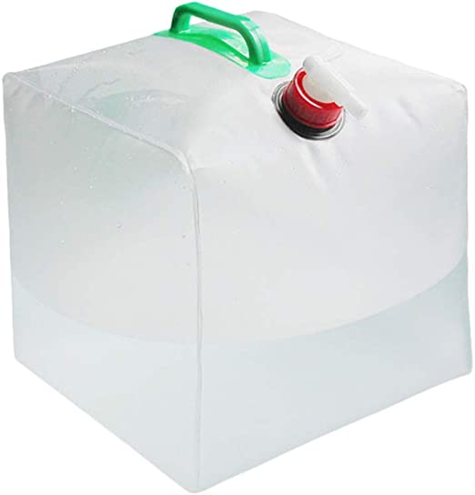 10L Foldable bucket water bag suitable for camping barbecue party 5L 4 gallon//15L water container for hiking 3L retractable water container Portable mobile//emergency storage tank with tap