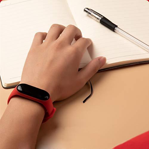 kit com 12 pulseiras coloridas diferentes para mi band 3 ou 4