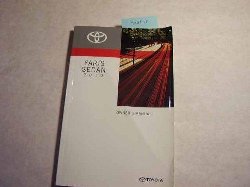 2010 Toyota Yaris Sedan Owners Manual