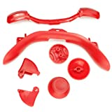 xbox 360 shell ca - Refaxi New Red LB RB LT RT Dpad Buttons Parts for Xbox 360 Controller