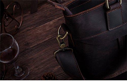 JOYIR - Bolso bandolera  Hombre Crazy Horse 33D*26L*8H