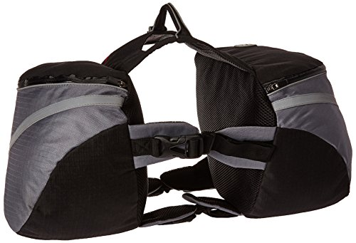 Doggles Dog Backpack, Extreme Medium, Gray/Black by Doggles