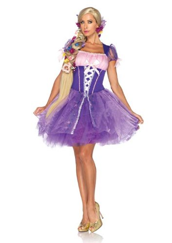 Leg Avenue Disney Rapunzel Wig, Blond, One -
