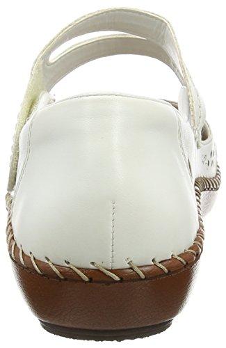 Bailarinas Blanco Blanco Rieker Mujer 44875 80 Ux1wvBE