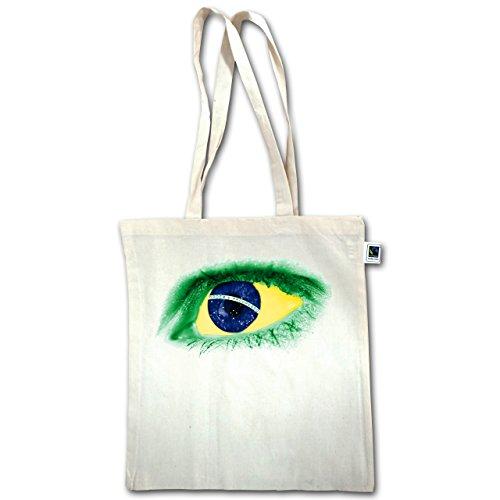 Paesi - Eye Bodypaint Brasile - Unisize - Natural - Xt600 - Manici Lunghi In Juta Bag