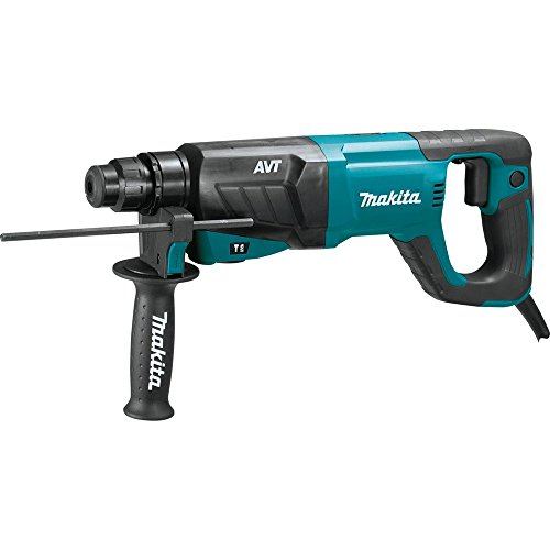 Makita HR2641 1 AVT Rotary Hammer, Accepts Sds-Plus Bits D-Handle